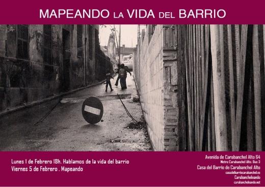 Barriando, jornada por la vida de barrio, en La Casa del Barrio