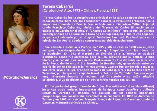 1. Teresa Cabarrus con K
