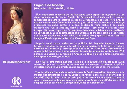3. Eugenia de Montijo con K