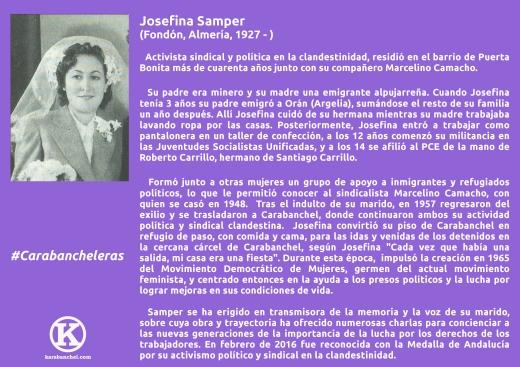 6. Josefina Samper con K