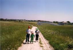Camino de Polovoranca, pasada la M40