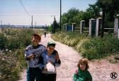 Camino de Polvoranca, actual calle Salvador Allende (1998)