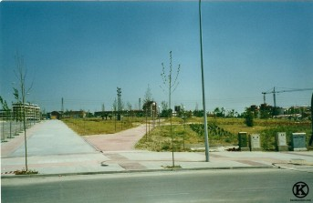 Esquina Avda. Peseta y calle Salvador Allende (2002)
