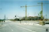 Esquina Calle Salvador Allende y Avda. de la Peseta (verano 2003)