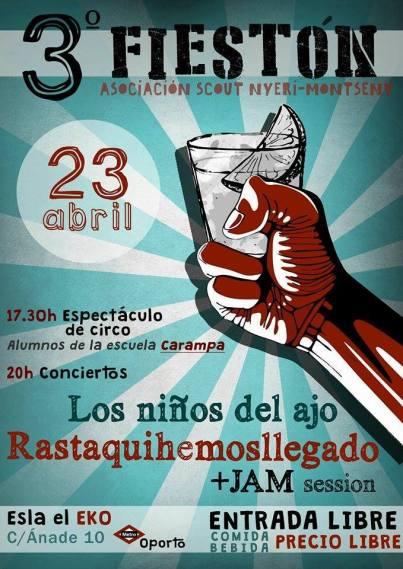 fiesta-scout 23 de abril en el EKO