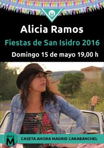Alicia Ramos caseta Ahora Madrid Carabanchel San Isidro