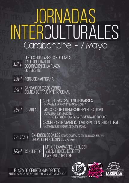 Jornadas Interculturales 7 de mayo