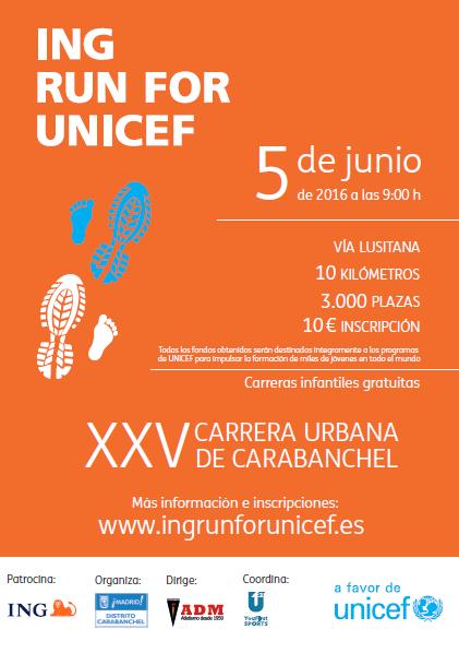 XXV Carrera popular de Carabanchel el 5 de junio