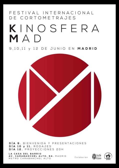 Kinosfera en La Casa del Barrio 10, 11 y 12 de junio