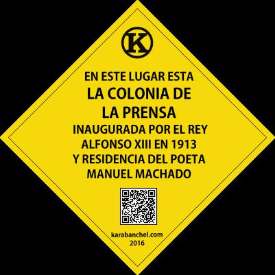 Placa 25. Colonia de la Prensa