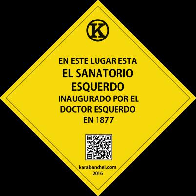 Placa 26. Sanatorio Esquerdo