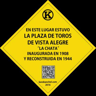 Placa 27. Plaza de toros de Vista Alegre