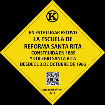 Placa 29. Escuela Santa Rita