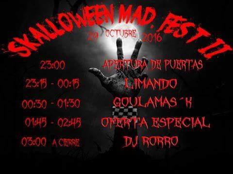 horarios-del-skalloween-mad-fest-2016