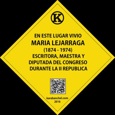 Placa 34. Casa de María Lejárraga.png