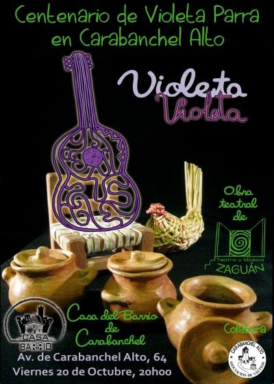 Tetro Violeta Violeta Casa del barrio 20 de octubre
