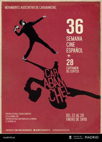 Cartel 36 Semana de Cine Español de Carabanchel