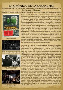 ORSON WELLES RODÓ CAMPANADAS A MEDIANOCHE EN CARABANCHEL
