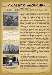 ANTOINE DE SAINT-EXUPÉRY EN EL FRENTE DE CARABANCHEL