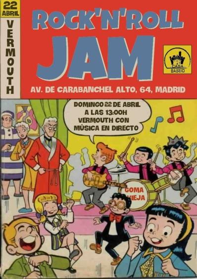 Concierto Gomavieja y Jam