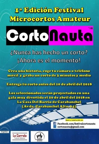 Festival Microcortos Amateur CortoNauta