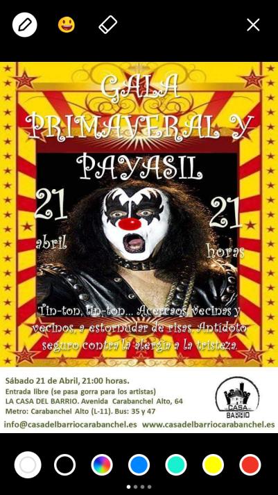 Gala Primaveral y Payasil
