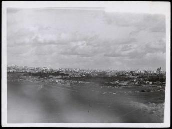 Frente de Madrid. Otra vista de Madrid desde Carabanchel Nov 1937-001