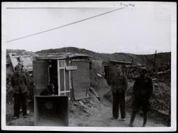 Frente de Madrid. Posición Nacional en Carabanchel Nov 1937-001