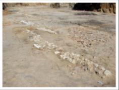 Restos romanos en el Parque Eugenia de Montijo 2