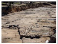 Restos romanos en el Parque Eugenia de Montijo 3 (2006)
