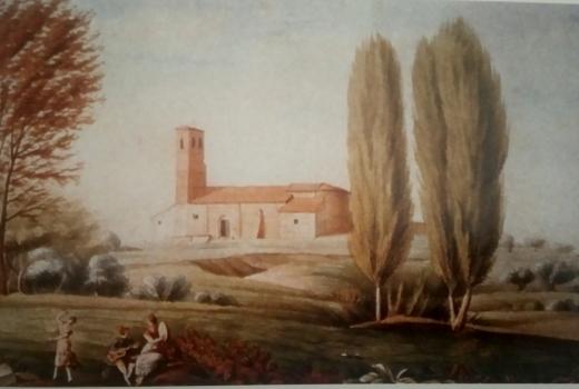 ermita de la Magdalena - Ermita de la Antigua. Carabanchel, 1818